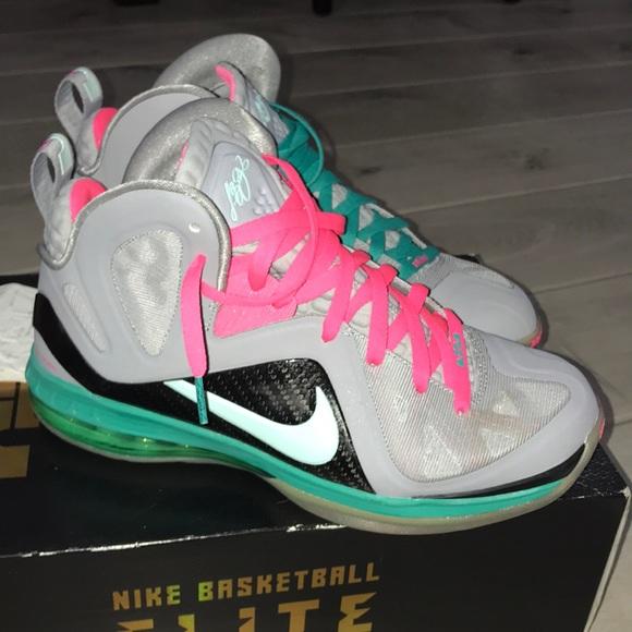 585fff67a32 Nike Lebron 9 P.S. Elite size 9 - South Beach. M 5c437dd5409c15223a0ec941